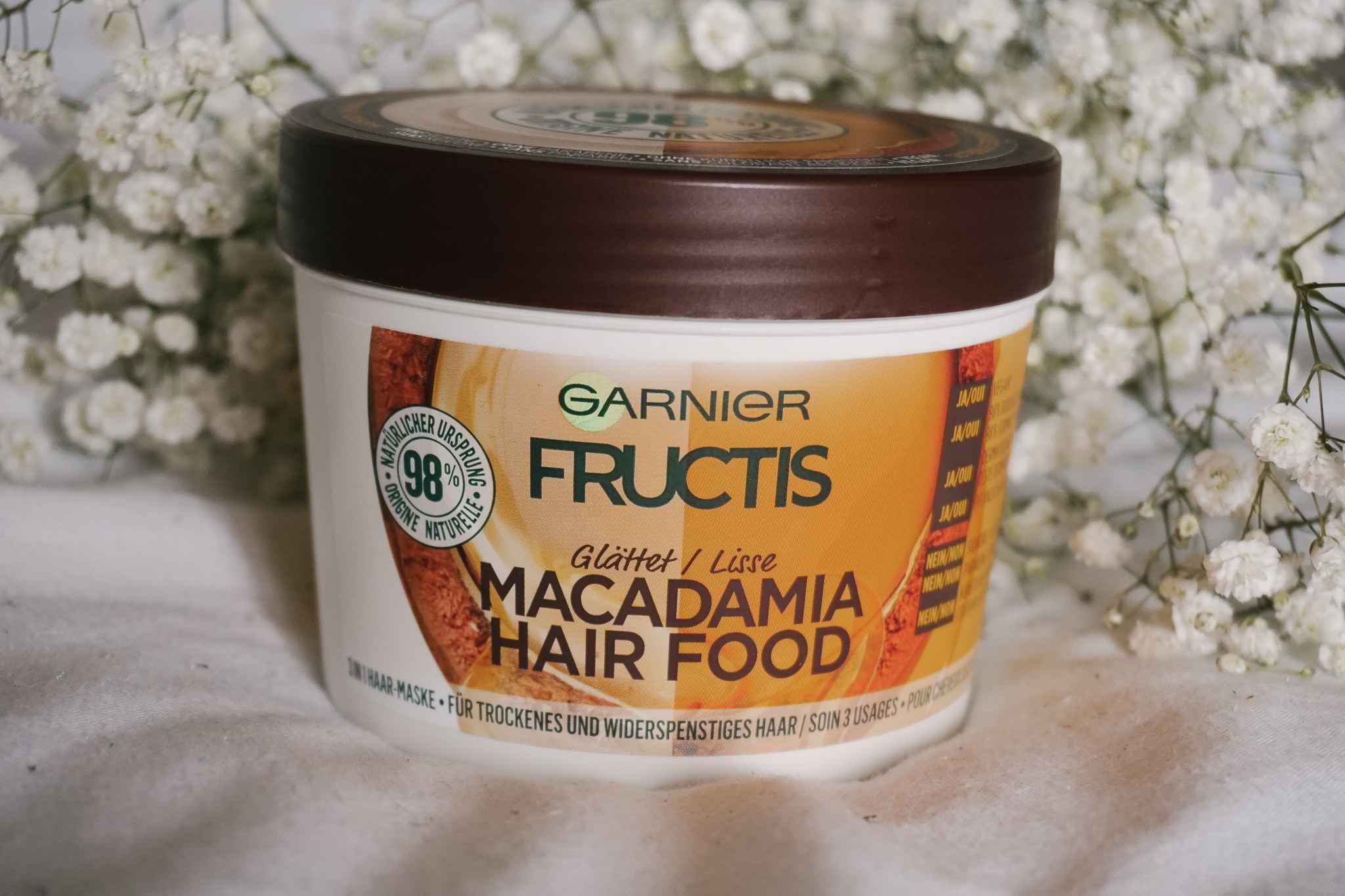 fructis garnier hair food