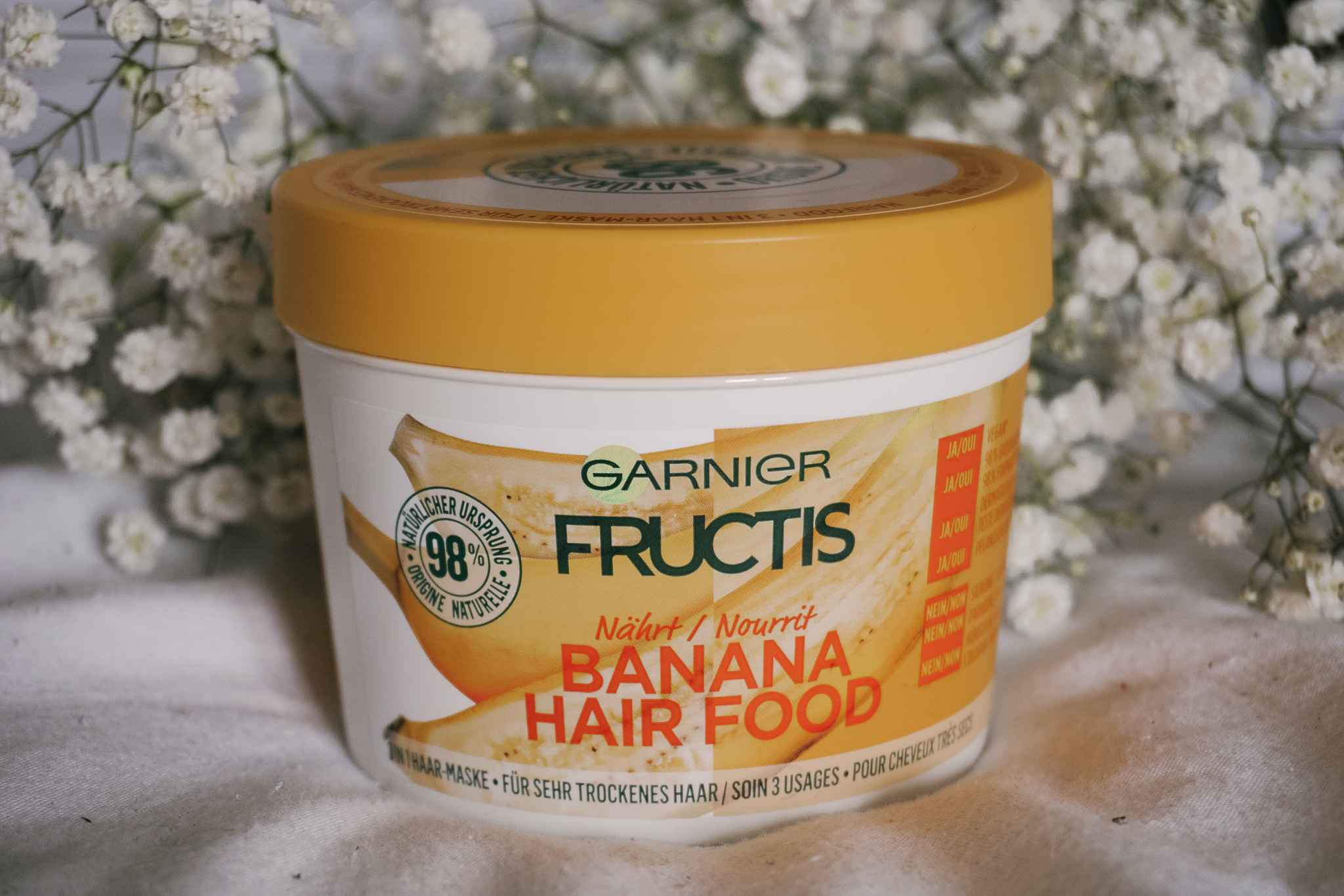 fructis garnier hair food
