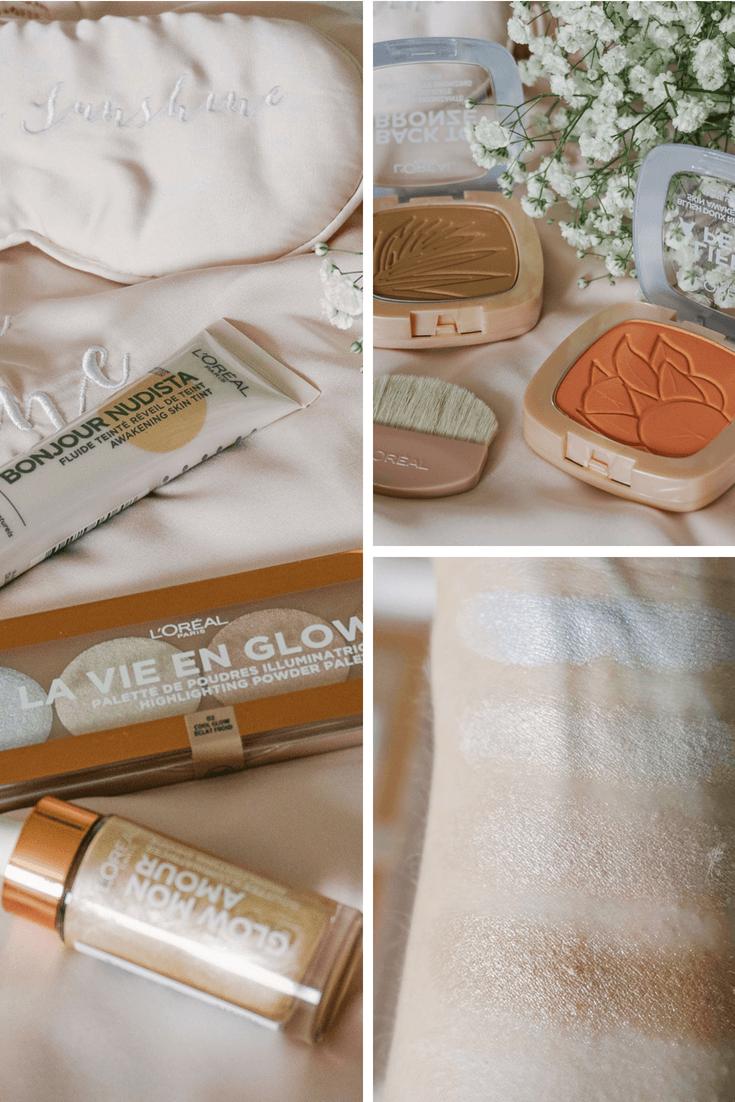 glow collection L'Oréal