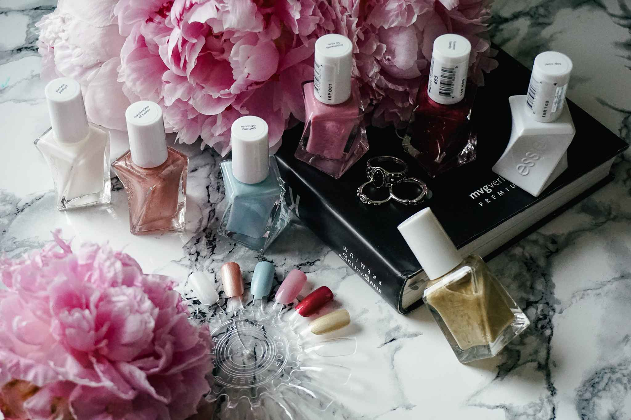 essie gel couture wedding collection reem acra