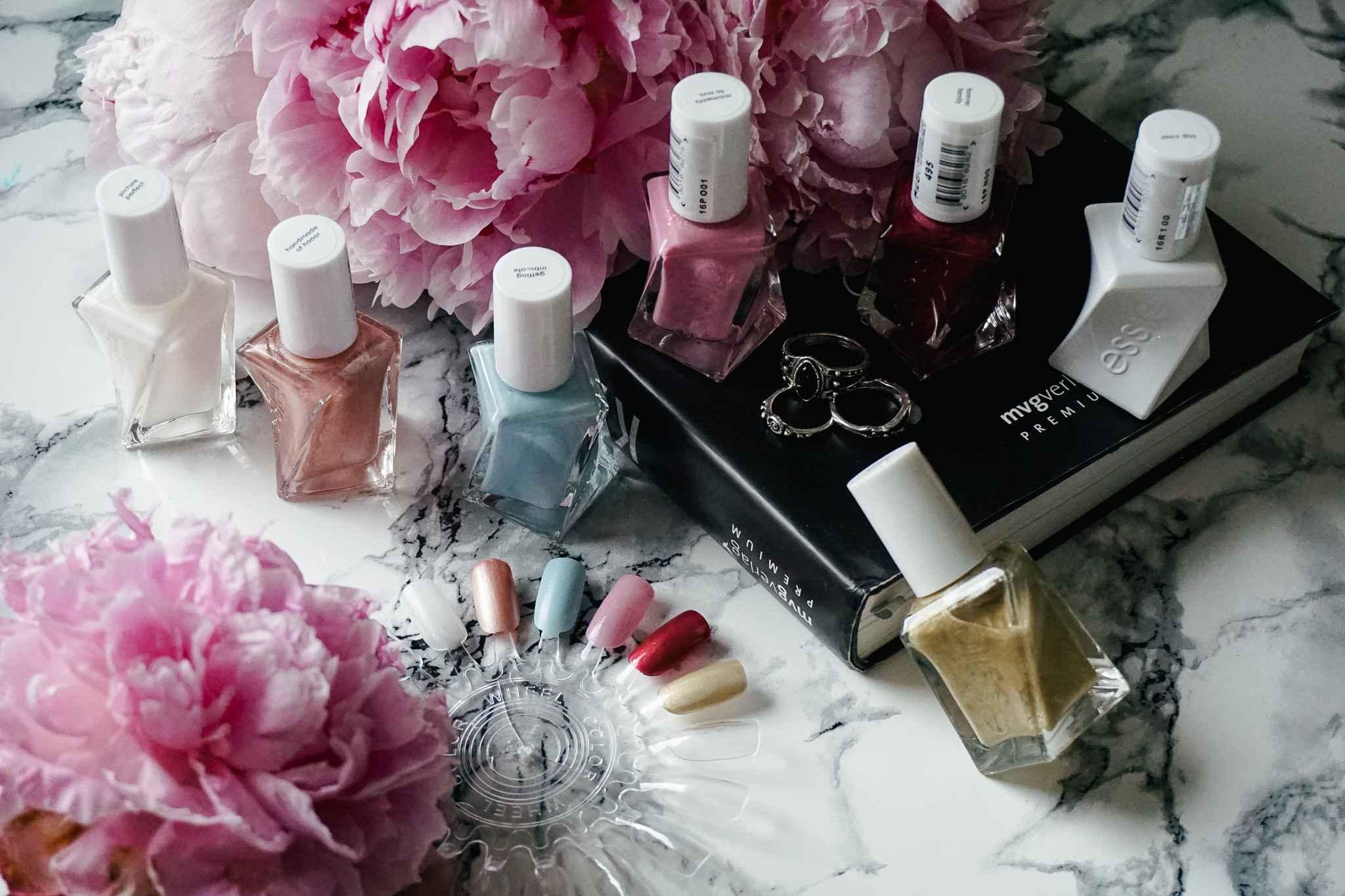 essie gel couture wedding collection reem acra