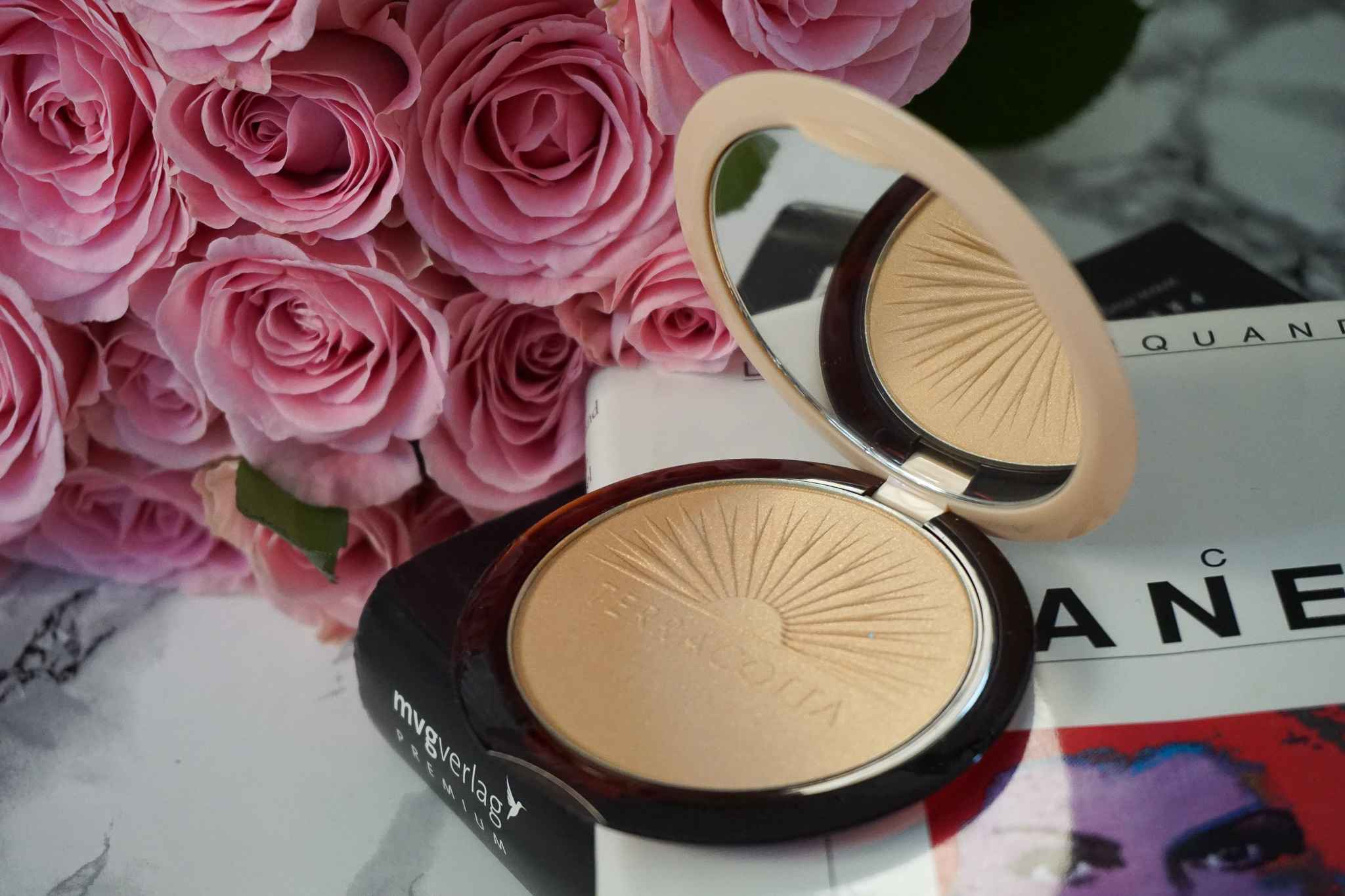 guerlain Terracotta Summer Highlight Bronzing Powder makeup review