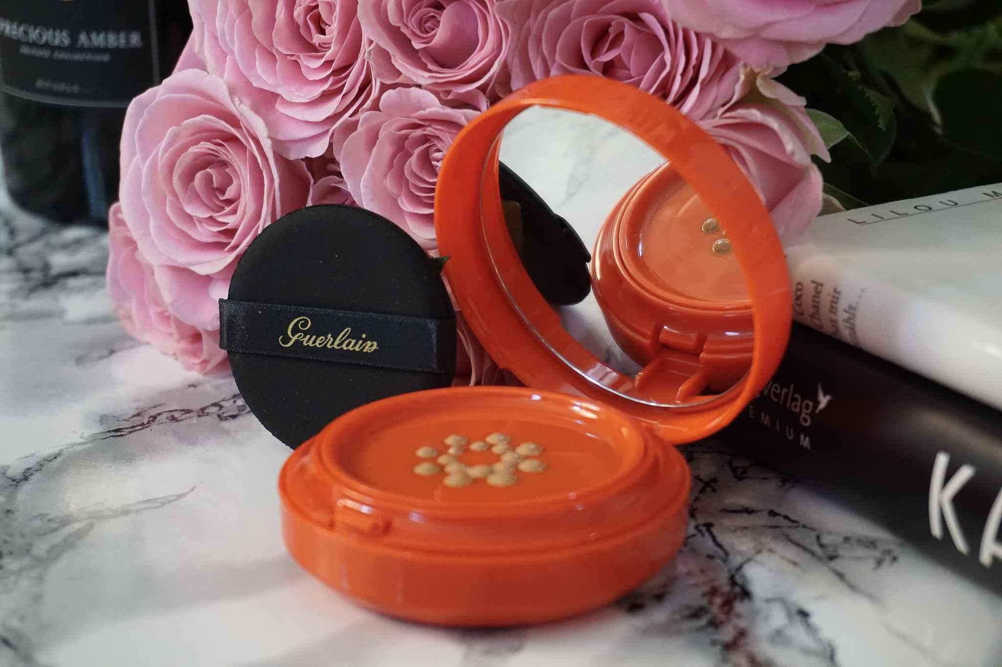 guerlain terracotta sun cushion makeup review