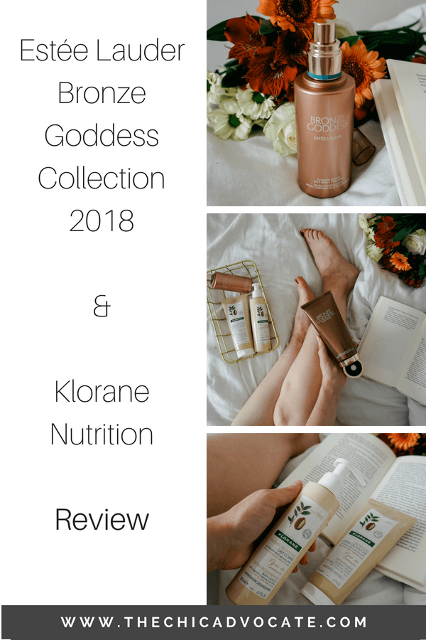 Estée Lauder Bronze Goddess & Klorane Body Care Review