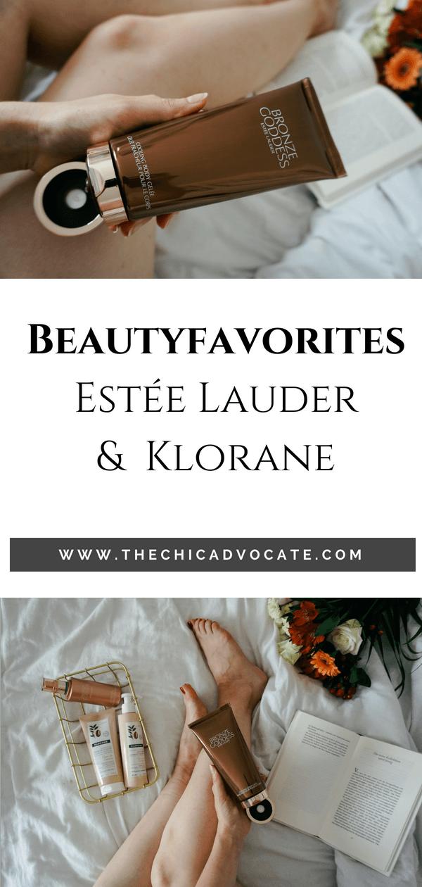 Estée Lauder Bronze Goddess & Klorane Body Care Review
