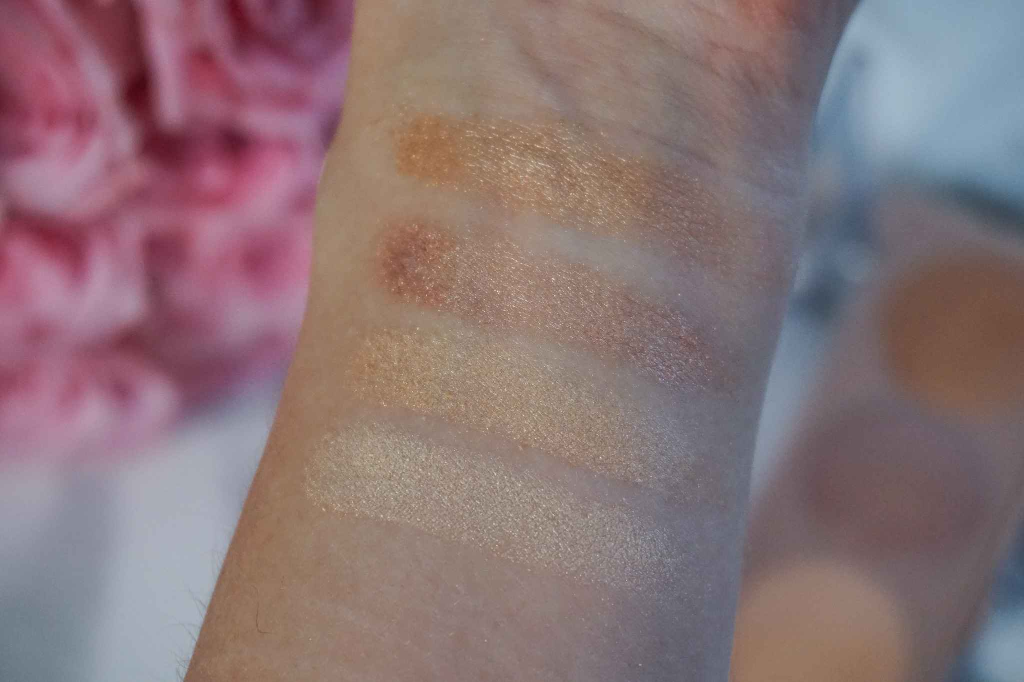 La Vie en Glow review swatches