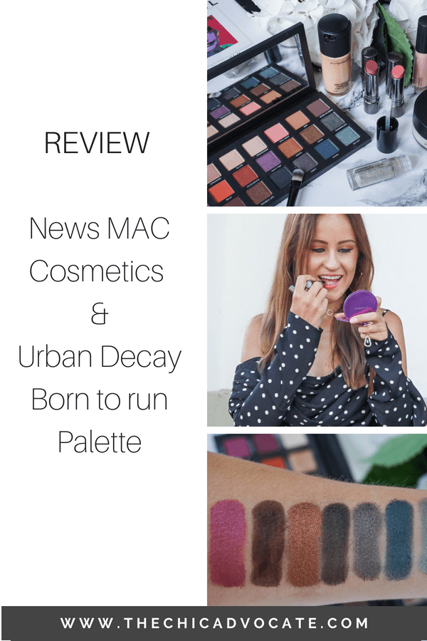Review MAC Cosmetics Urban Decay Born to run palette swatches-2