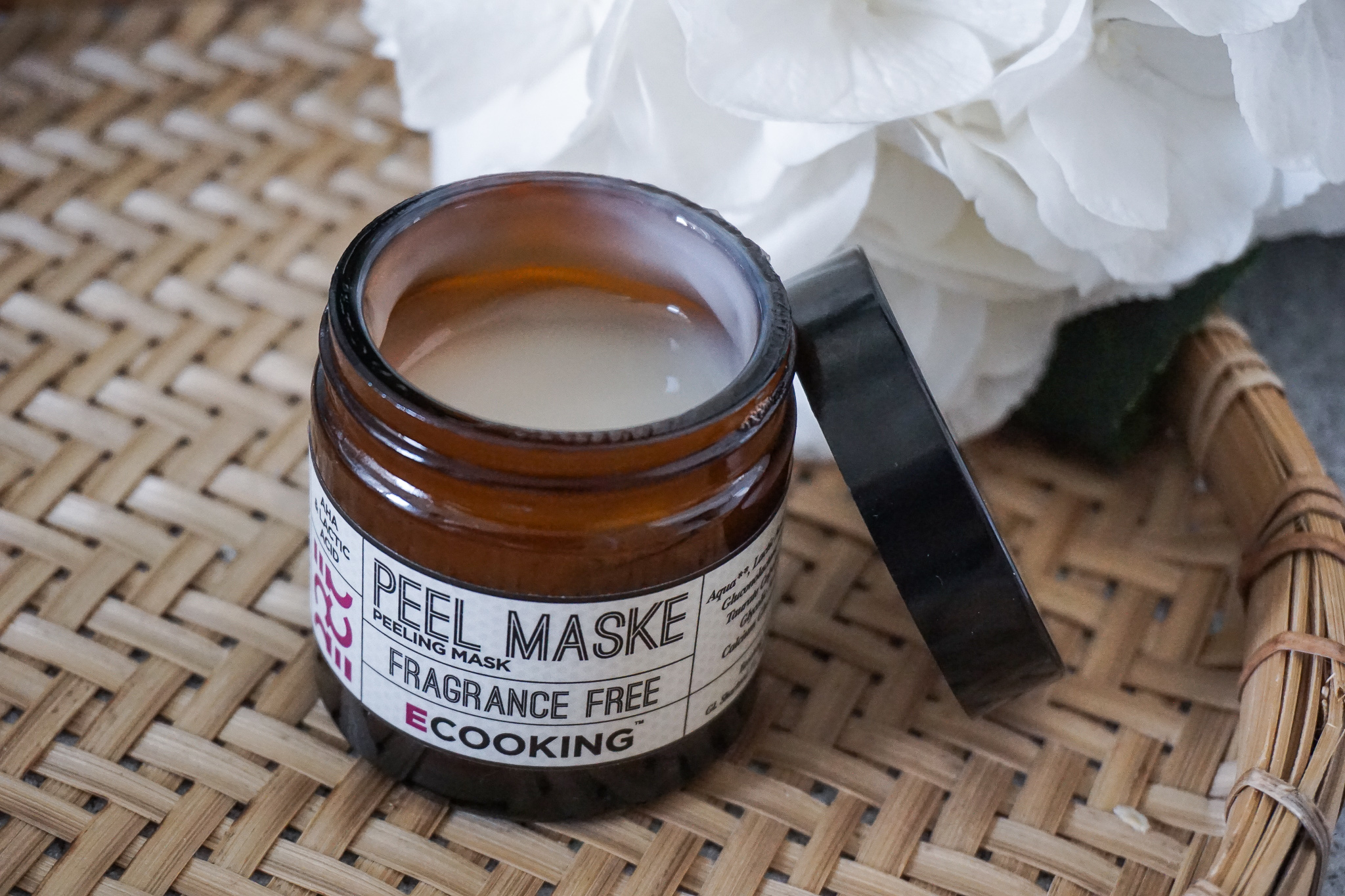 Cooking peel mask