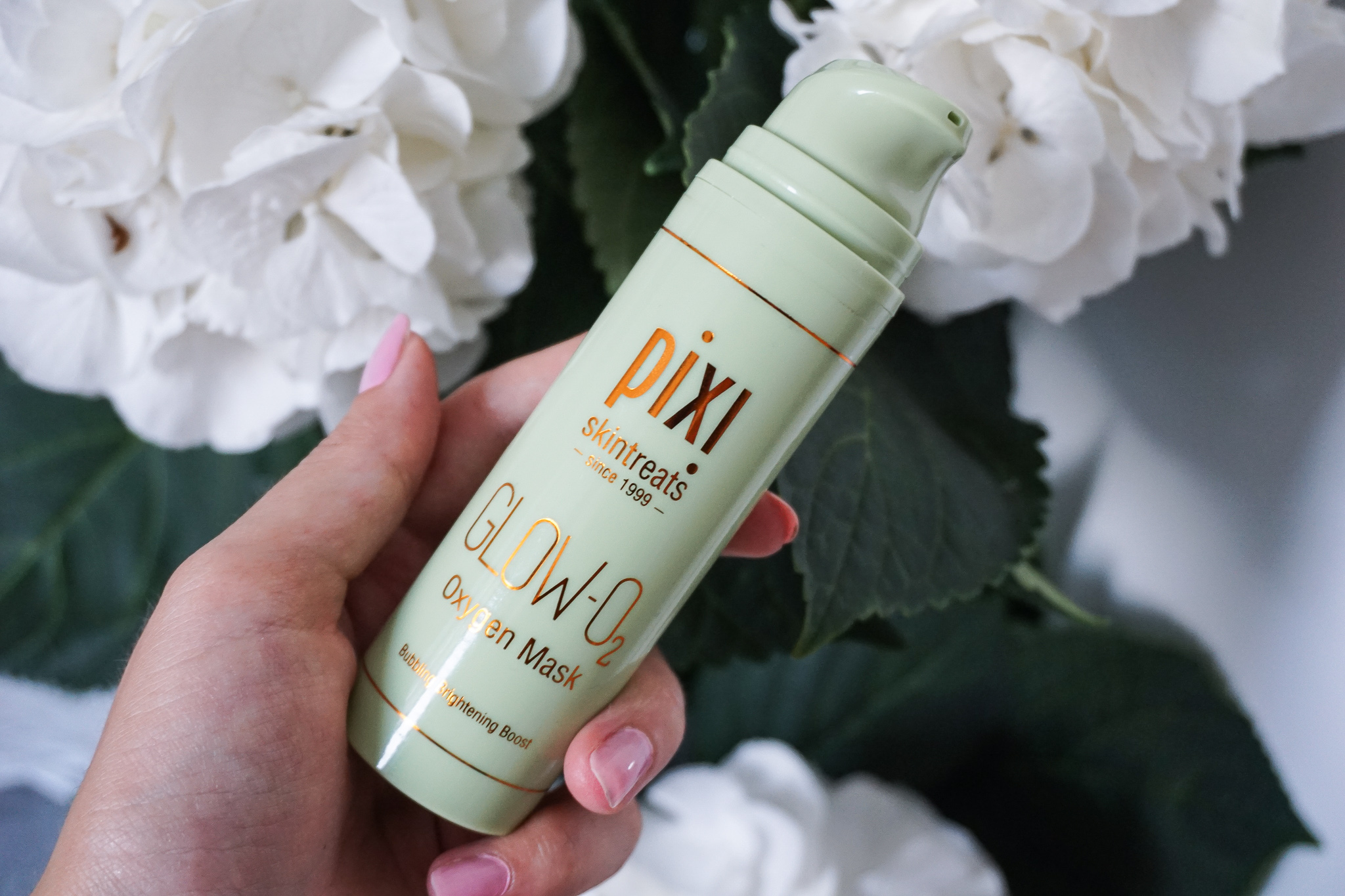 Glow-O2 Oxygen Mask pixi skin treats review