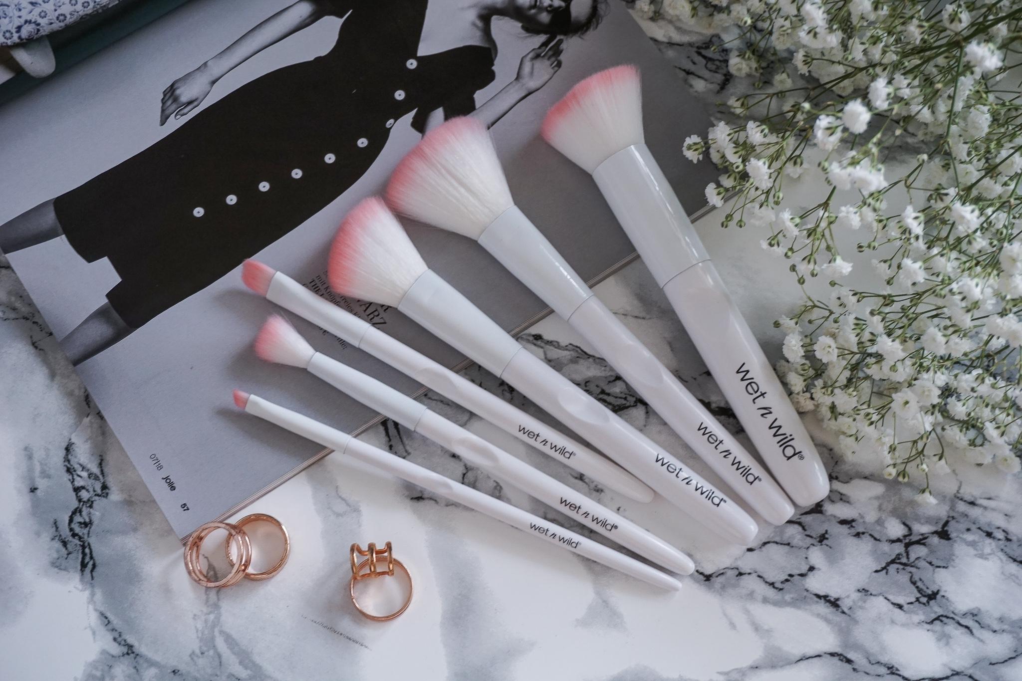 Wetnwild brushes makeup