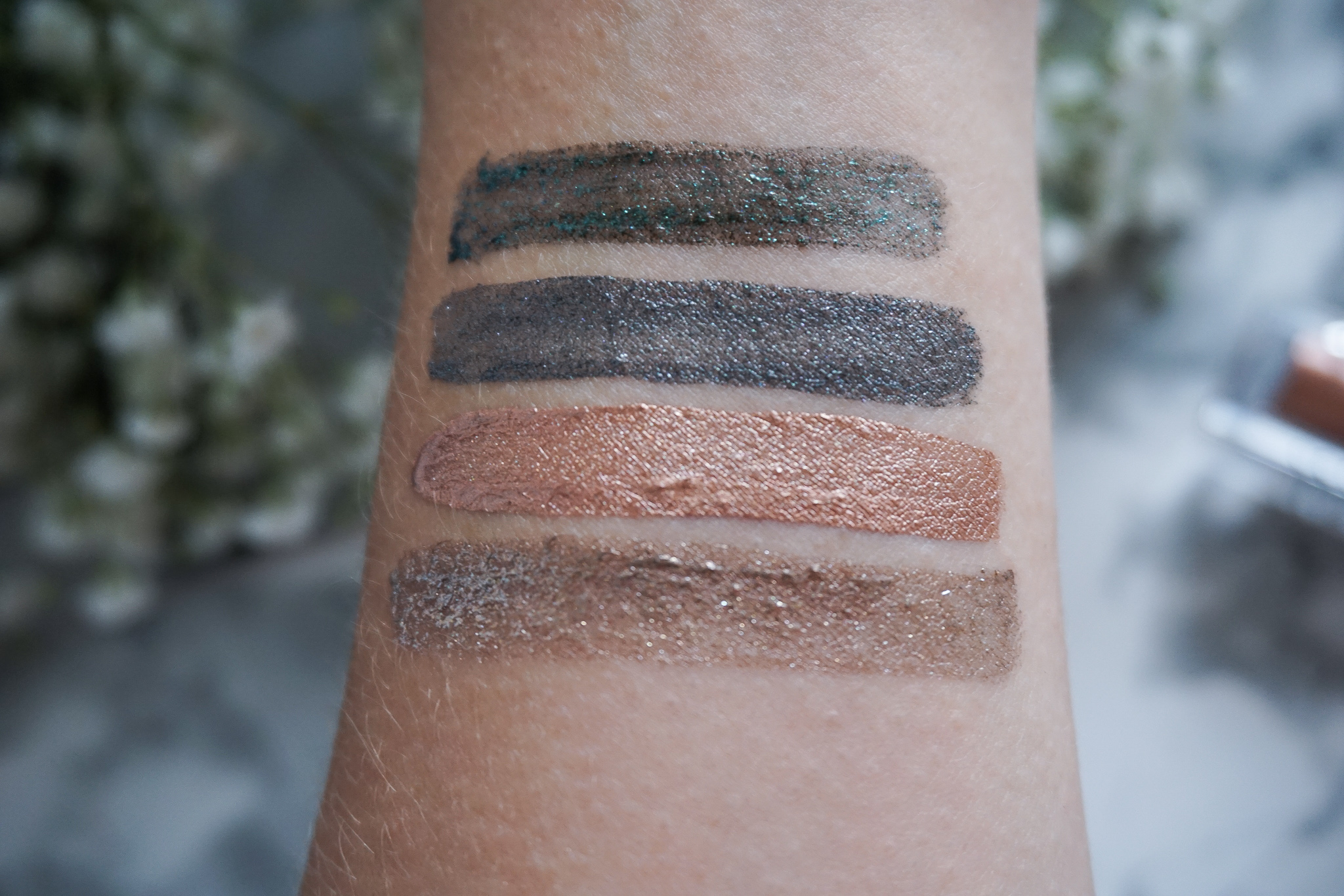 swatches wetnwild liquid catsuit eyeshadow