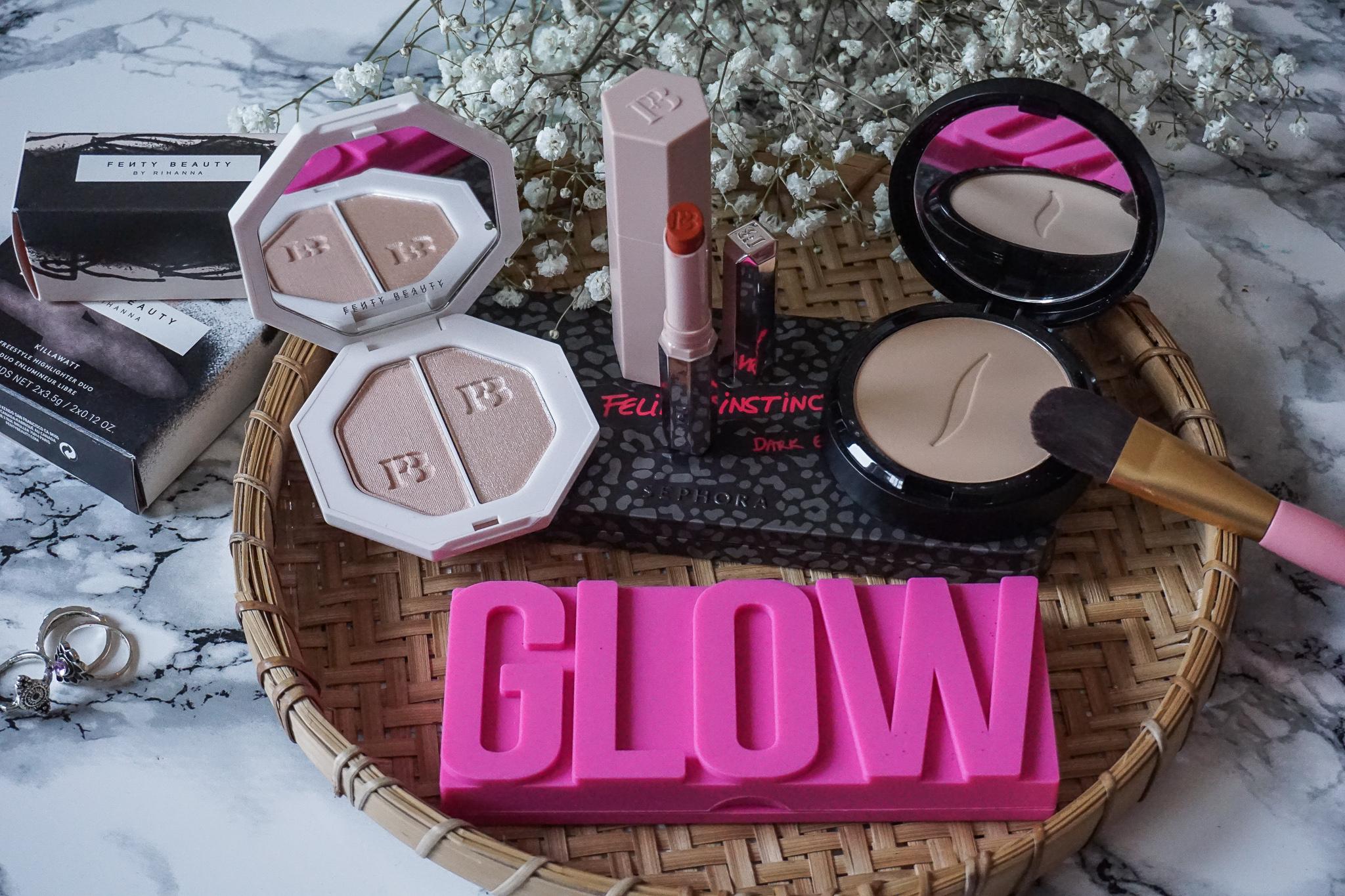 Fenty Beauty, Sephora, Glamglow