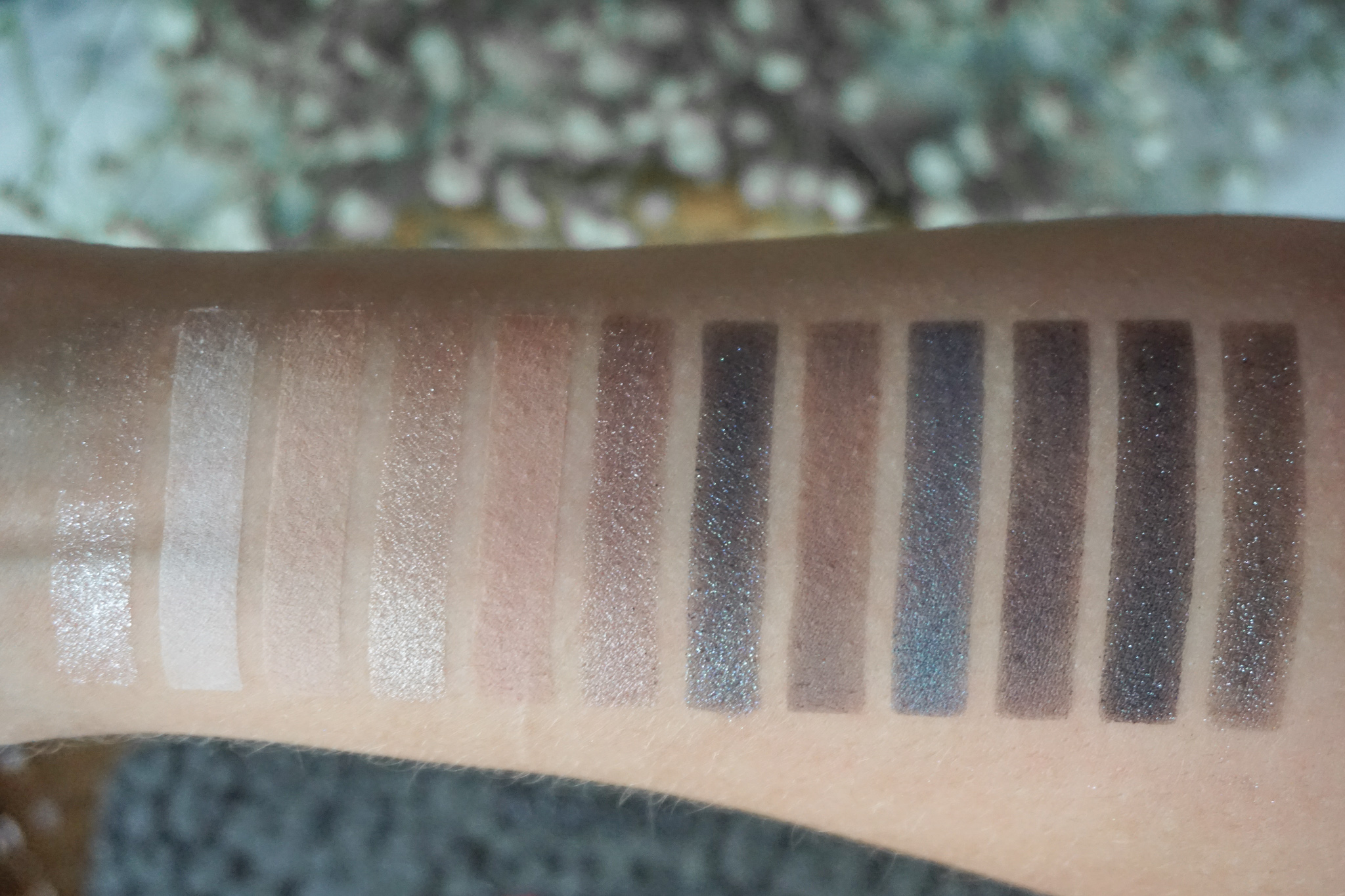 Sephora Feline Instict Dark Edition Swatches