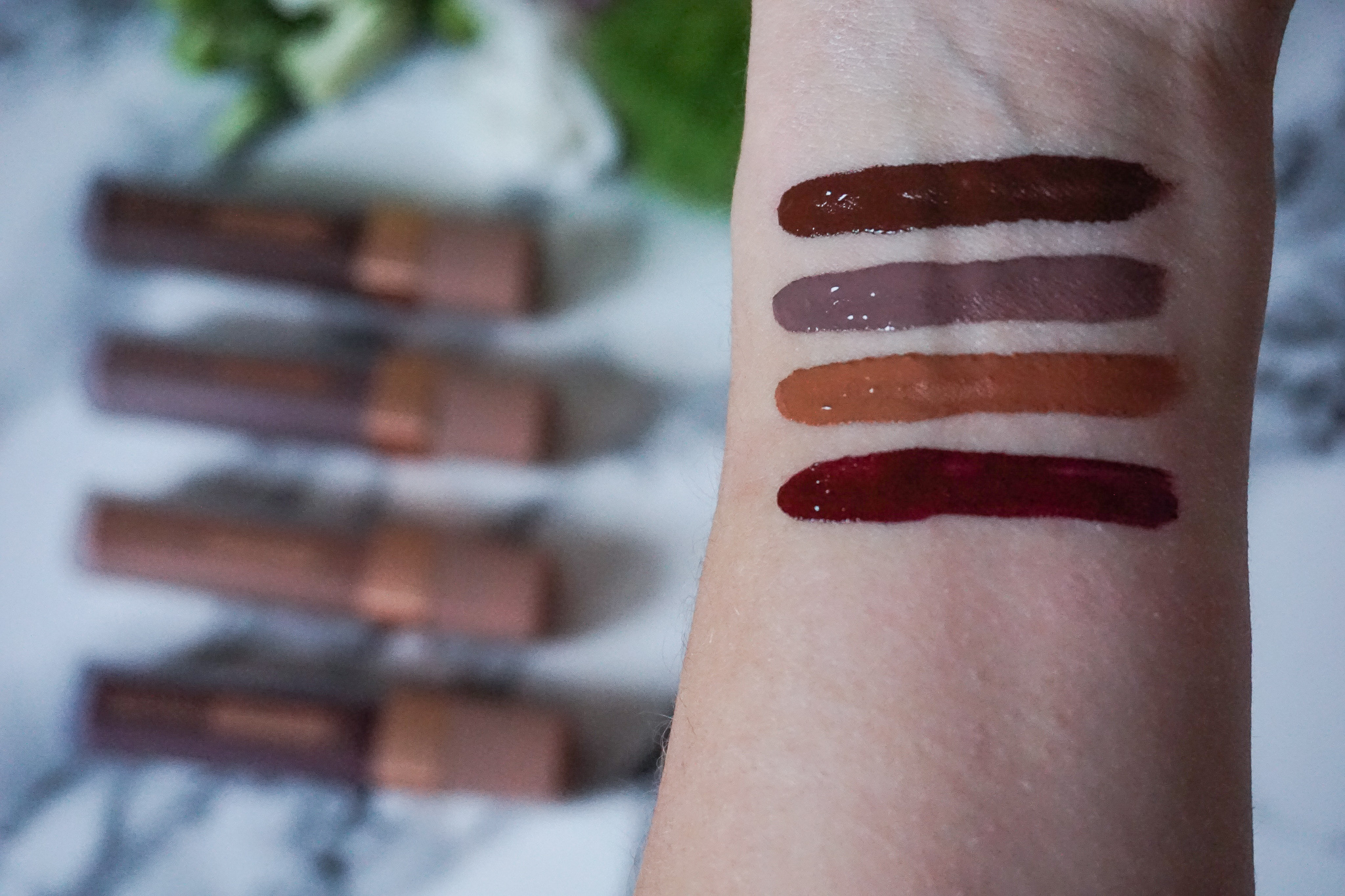 L'Oréal Les Chocolats Ultra Matte Liquid Lipstick Review Swatches