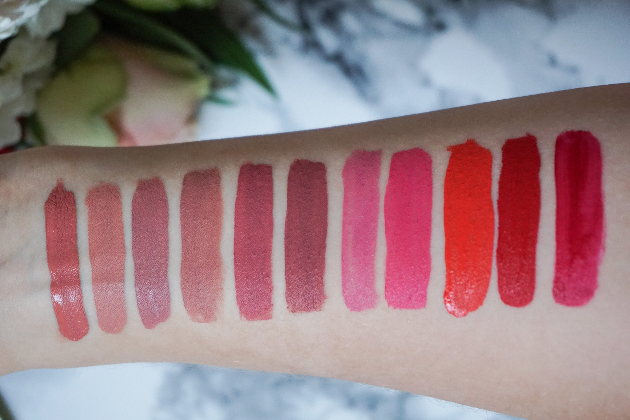 MatteLast Liquid Lip von Pixi Beauty Swatch