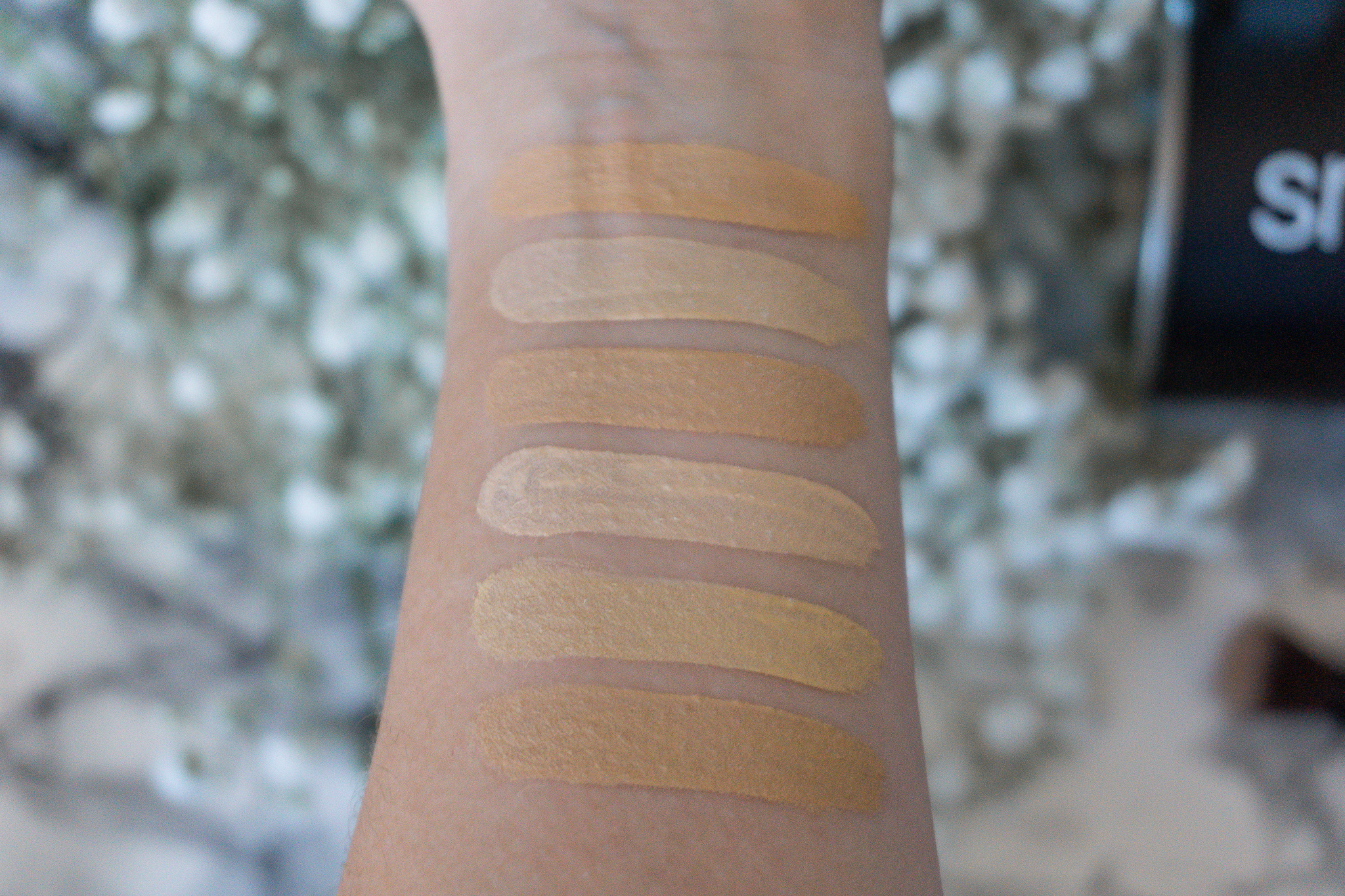 Studio Skin Flawless 24 Hour Concealer Smashbox Swatches
