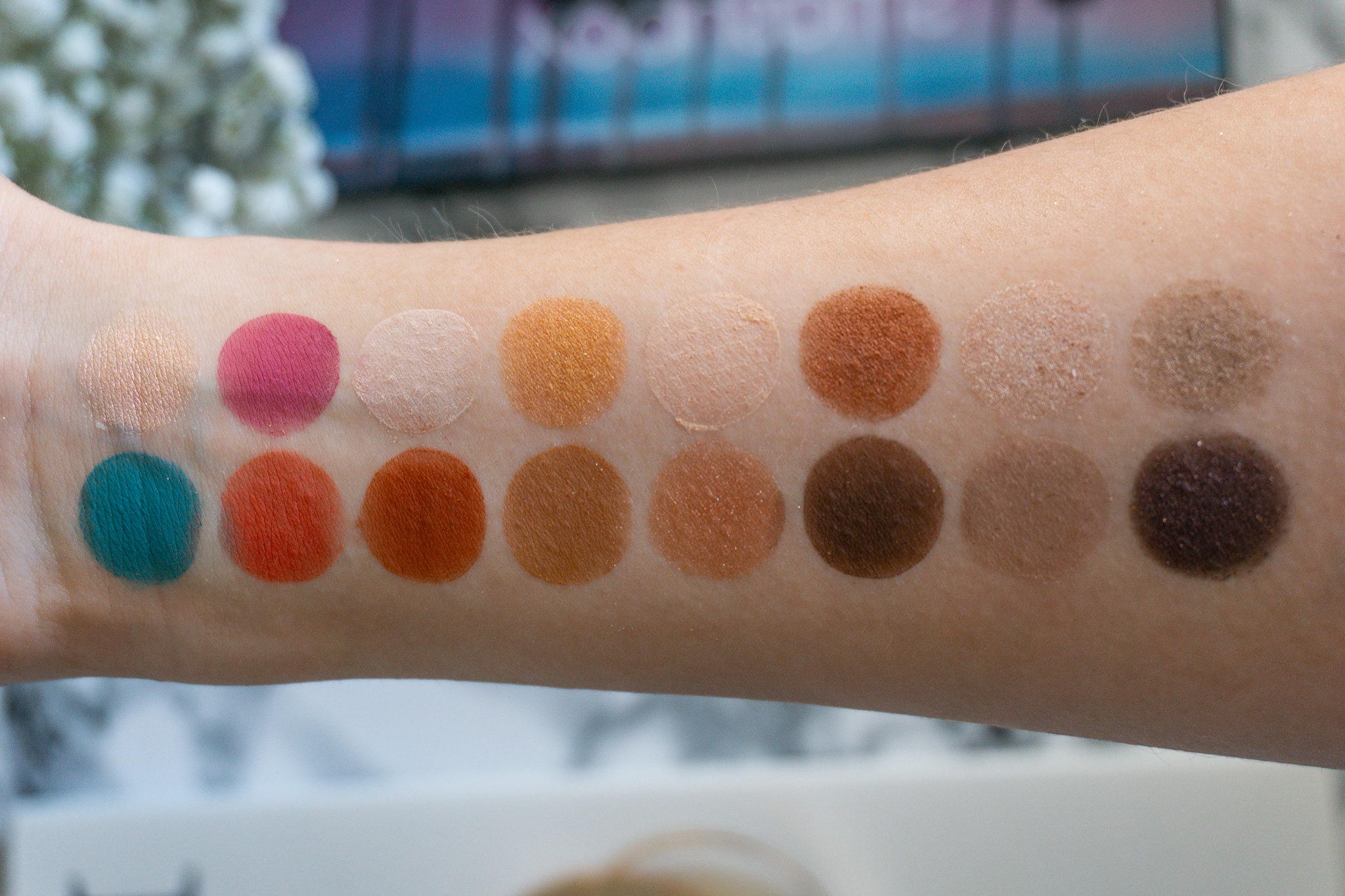 Smashbox L.A. Cover Shot Eye Palette Swatches