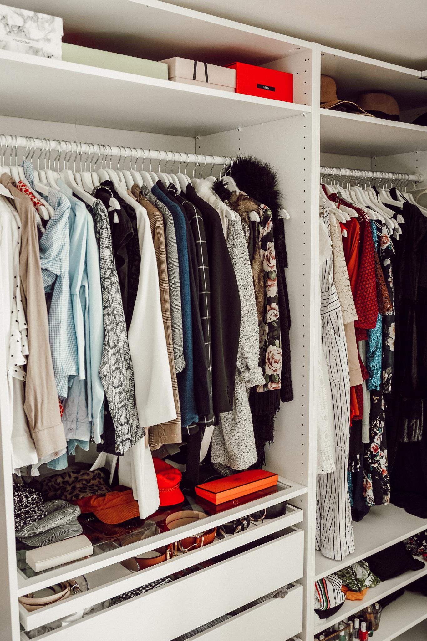 Mein Open Closet Projekt Mit Pax Und Billy Von Ikea The Chic