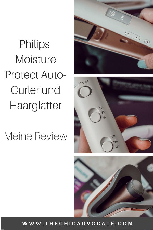 Philips Moisture Protect Auto-Curler und Haarglätter _ Meine Review