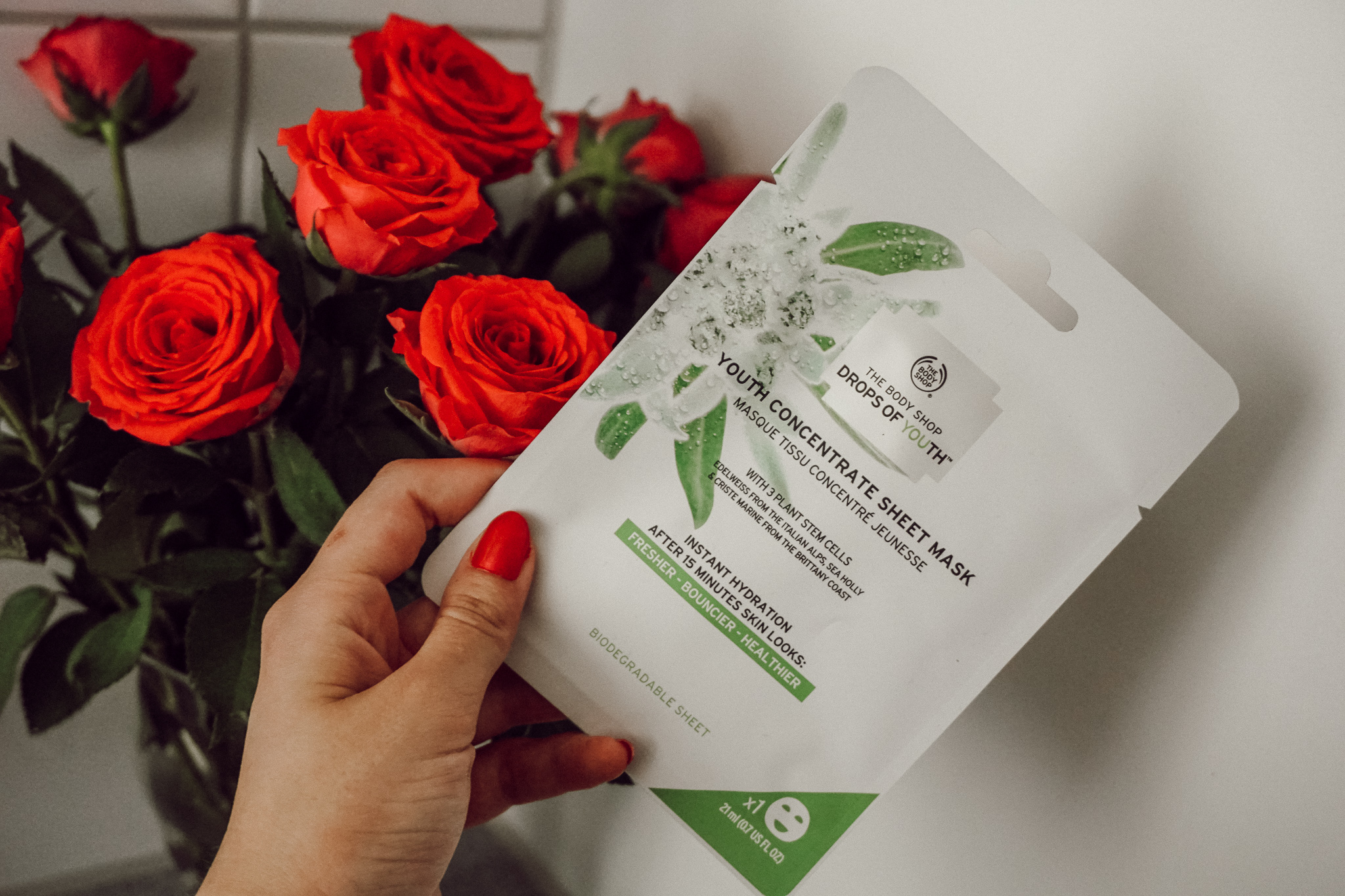 The Body Shop Drops of Youth Sheet Mask