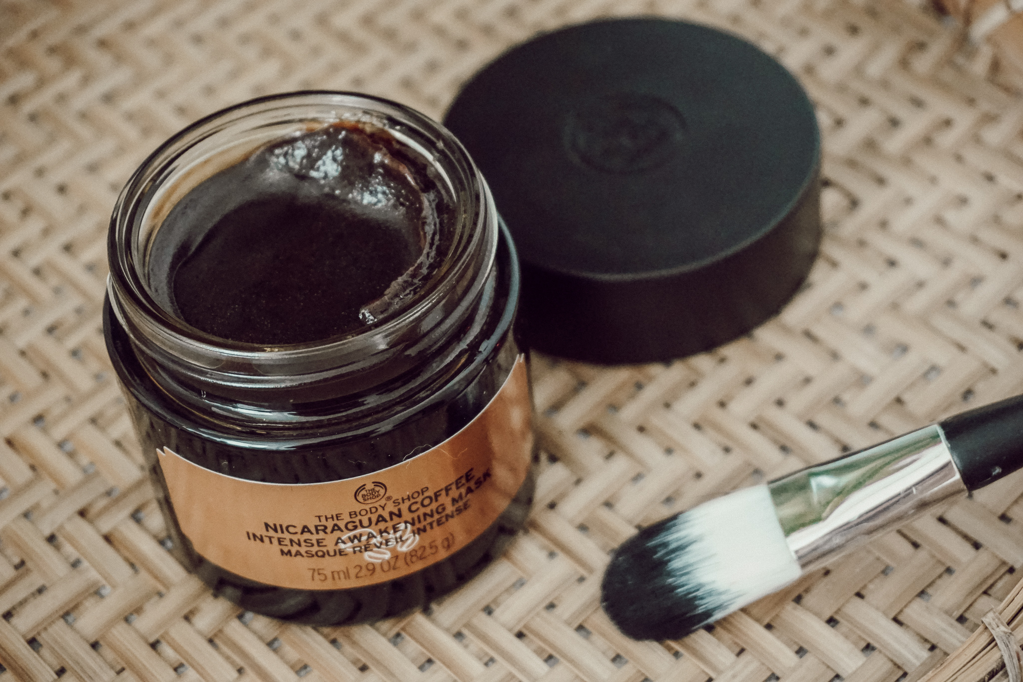 The Body Shop COFFEE SUPERFOOD FACE MASK