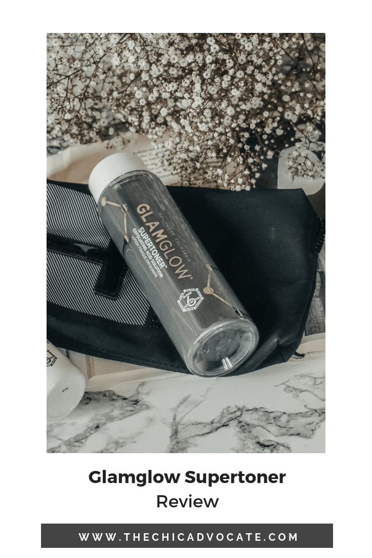 Glamglow Supertoner Review Facemask Beautyblog Cosmetics