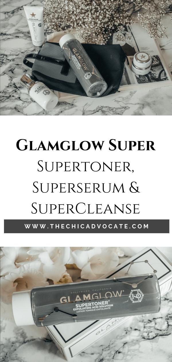 Glamglow Supertoner Superserum Supercleanse Beautyreview Unreine Haut
