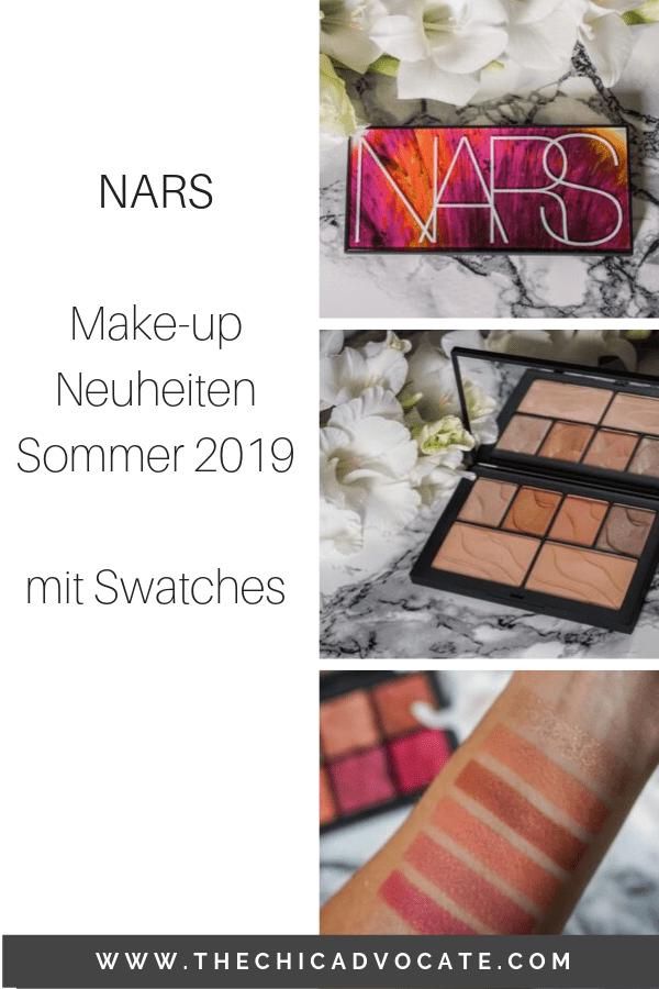 NARS Makeup Neuheiten Sommer 2019 Swatches