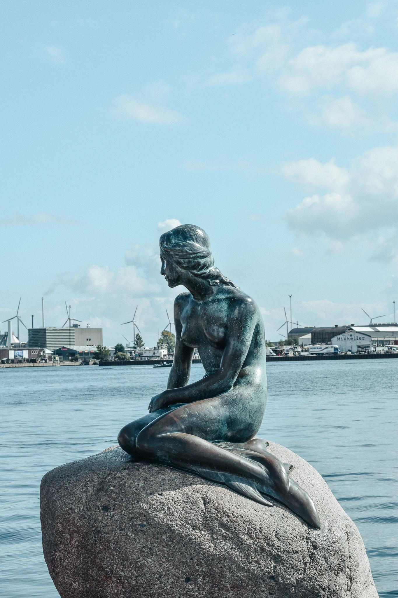 Cityguide Kopenhagen die kleine Meerjungfrau