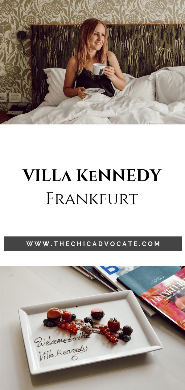 Hotel Villa Kennedy Frankfurt Boutiquehotel Aufenthalt Hotelreview 5 Sterne Hotel