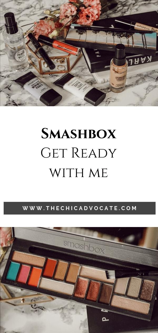 Smashbox Makeup Primer Concealer Foundation Glossangeles L.A. Cover Shot Palette