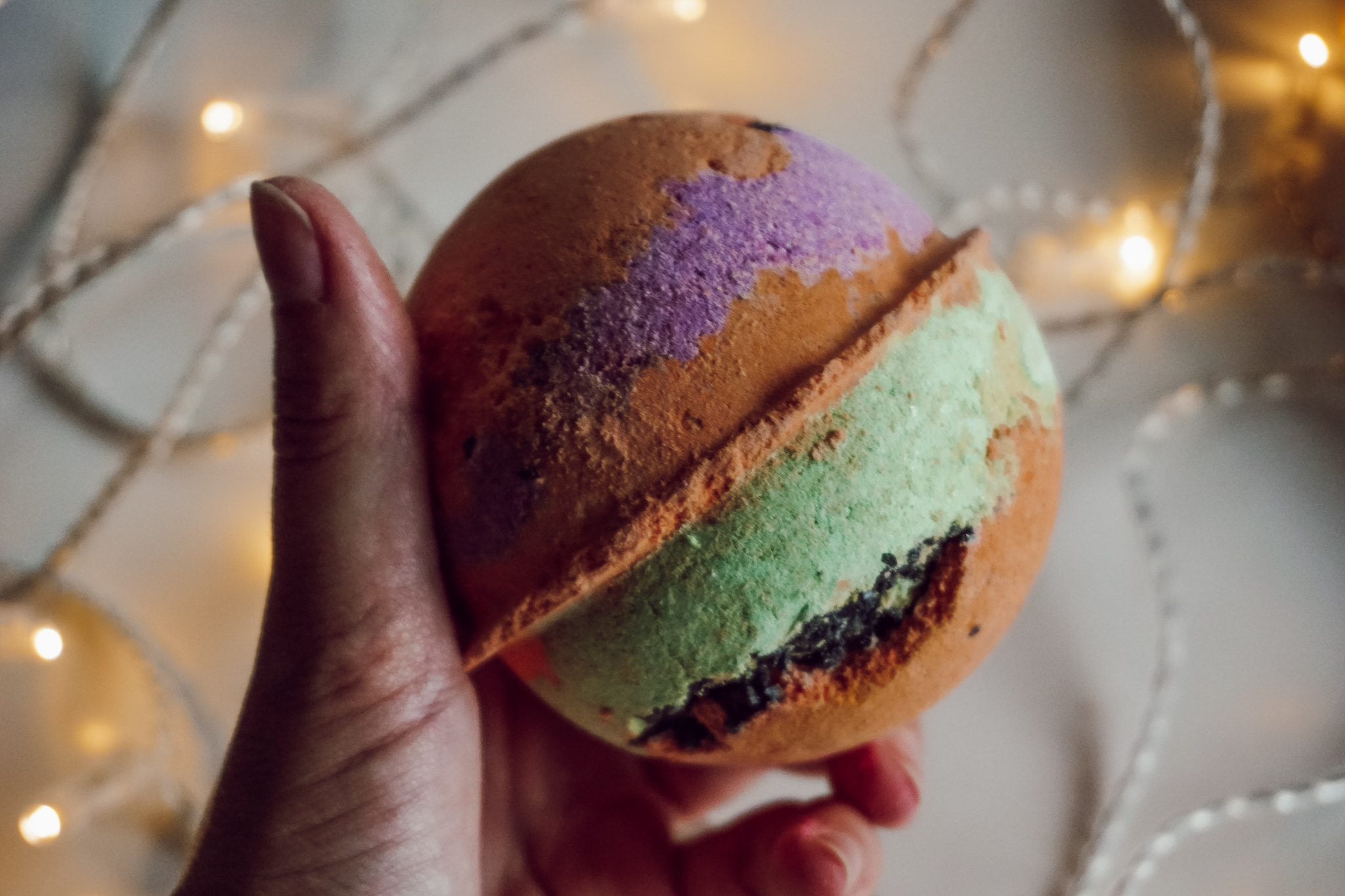 Lush Bathbomb Halloween