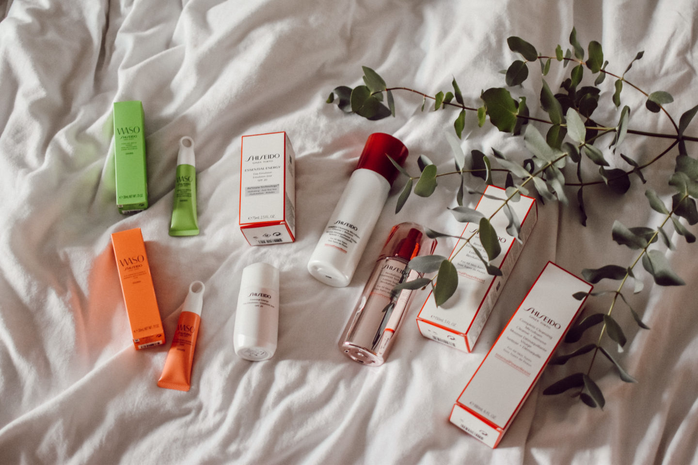Skincare News by Shiseido and Waso
