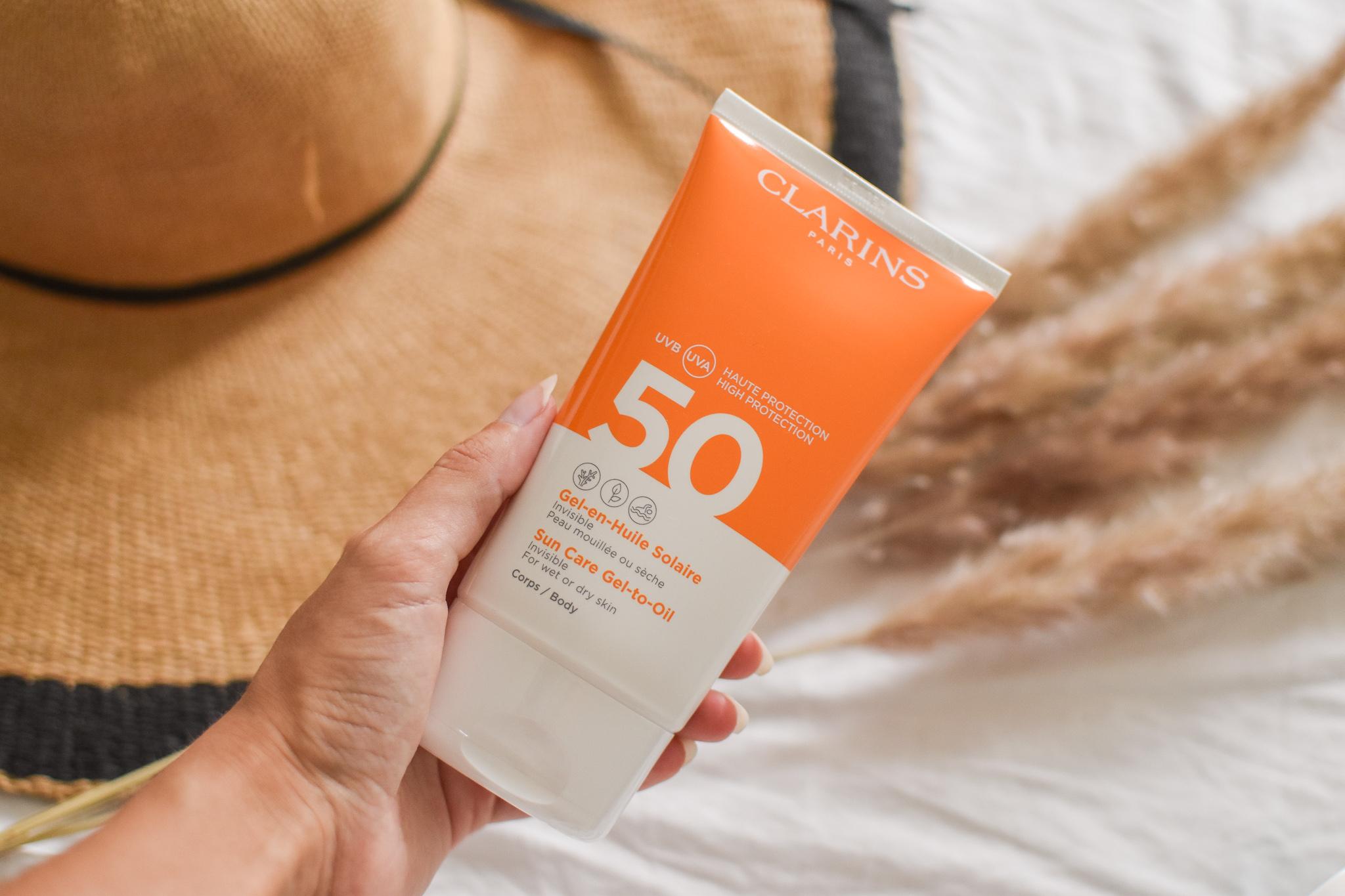 Clarins - Sun Care Gel-to-Oil Body SPF50+