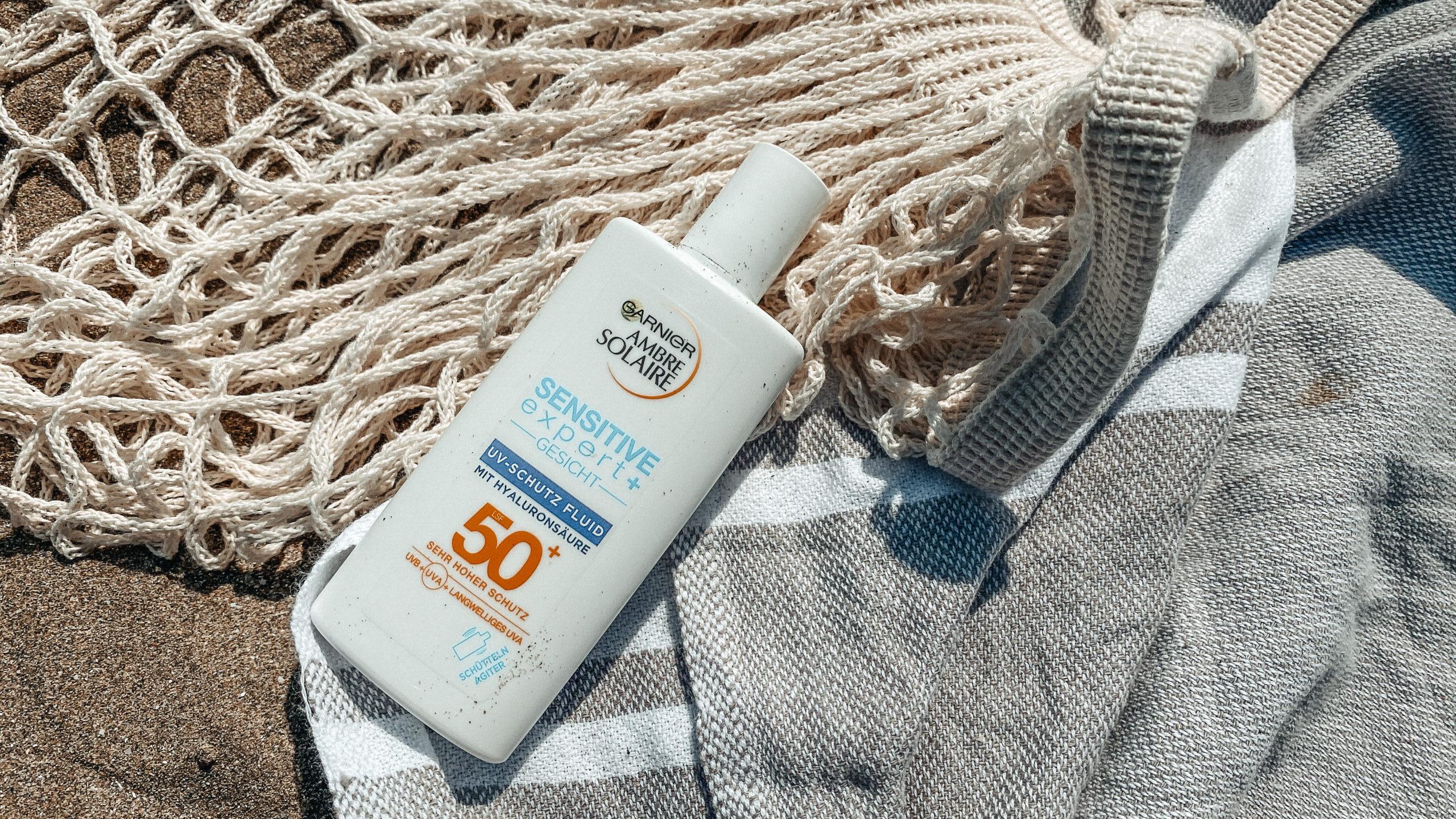 Garnier Ambre Solaire Sensitive expert+ Gesicht UV-Schutz Fluid