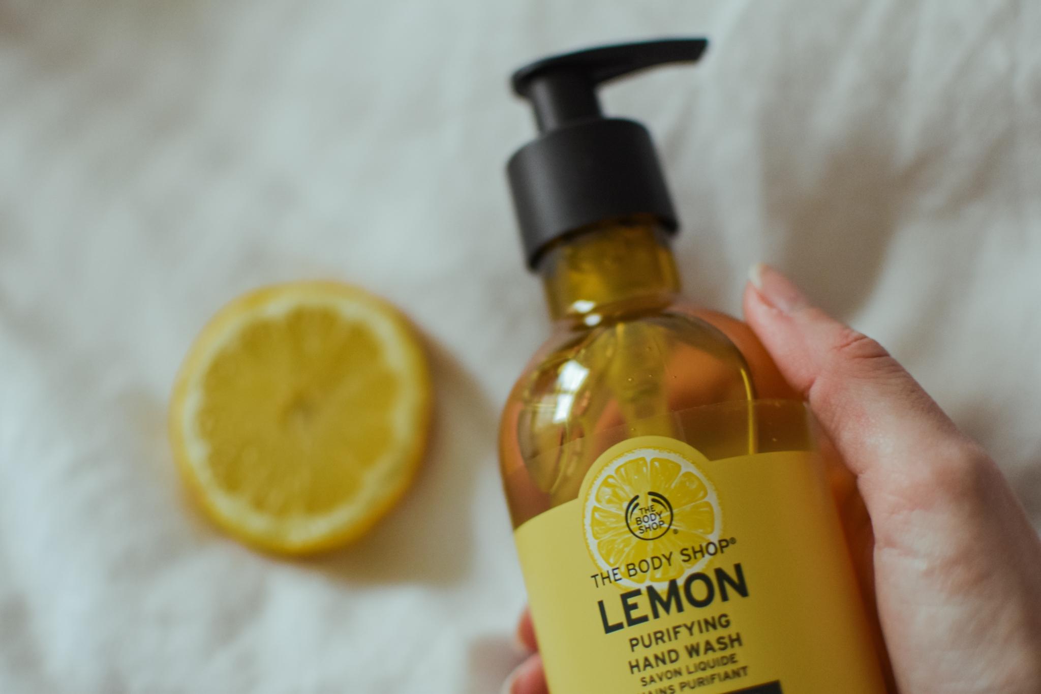 The Body Shop - Lemon Purifying Handwaschlotion