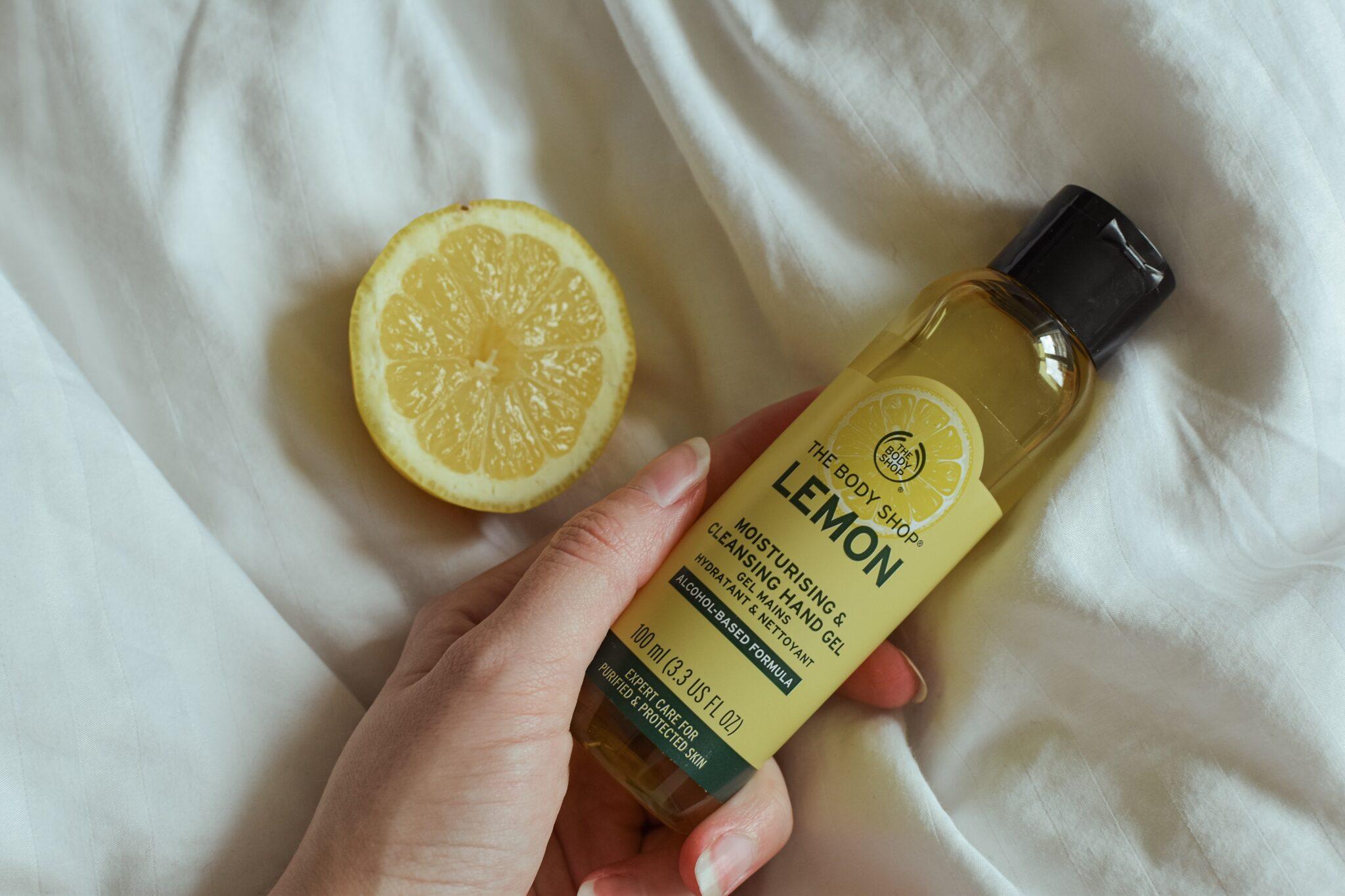 The Body Shop - Lemon Moisturising & Cleansing Handgel